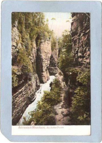 New York Au Sable Chasm Adirondack Mountains Au Sable Chasm ny_box5~1486