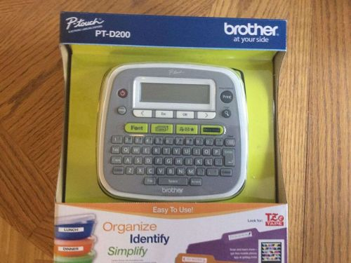 Brother P-Touch PT-D200 Label Thermal Printer
