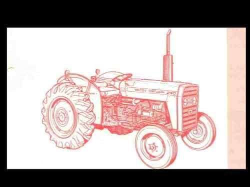 Mf 240 Tractor Wiring Diagram - Auto Wiring Diagram Preview