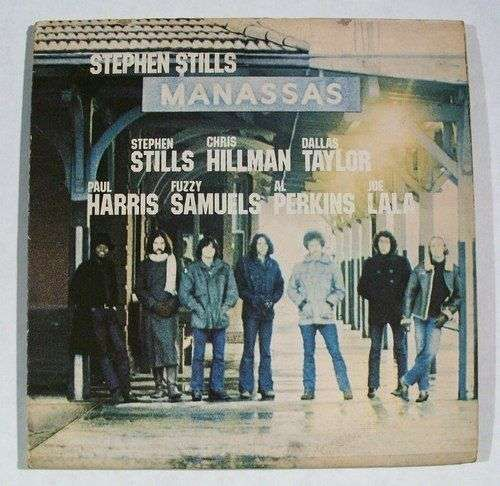 "STEPHEN STILLS "" Manassas "" 1972 Double Rock LP"