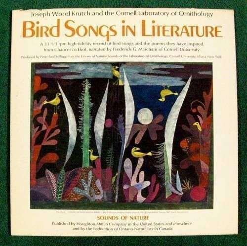 BIRD SONGS IN LITERATURE / Sounds of Nature *** 1967 Hi-Fidelity LP