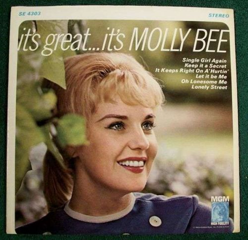 MOLLY BEE ~ It's Great ... It's Molly Bee 1965 Country LP