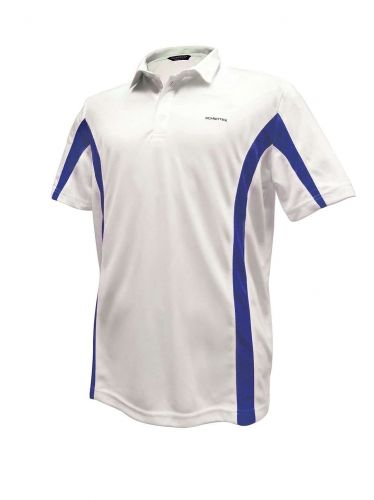 Mens Schontex golf polo, wicking, anti-odor, anti-UV, free shipping, size XL