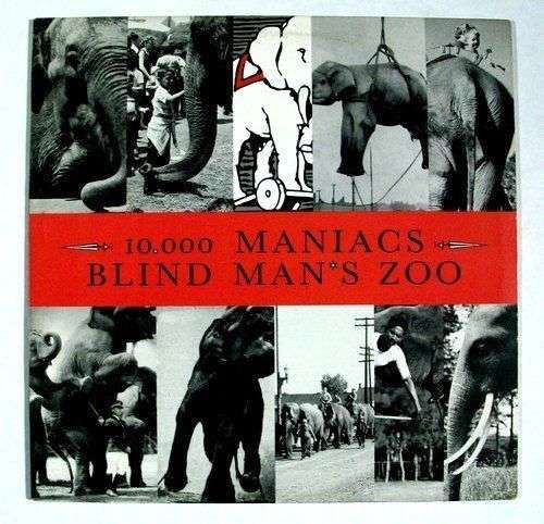 10,000 MANIACS Blind Man's Zoo 1989 Alternative / Jangle Pop LP