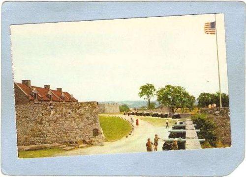 New York Fort Ticonderoga South Battery & Flag Bastion ny_box5~1567