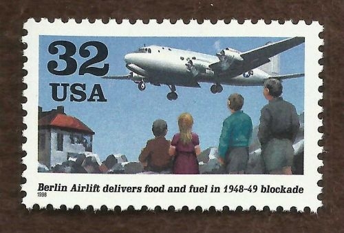 Sc # 3211 ~ 32 ct Berlin Airlift, 50th Anniversary Issue