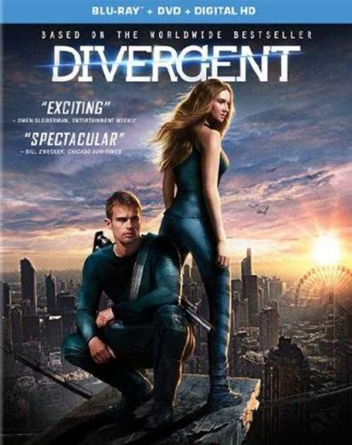 DIVERGENT-BLUE RAY