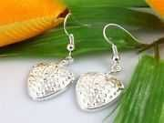 Silver Strawberries Earrings