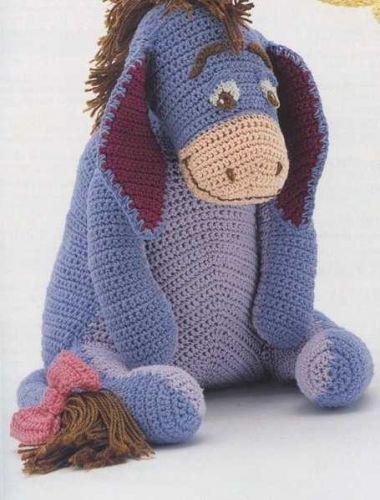 Crochet 4 Toys Winnie Pooh Tiger Piglet Eeyore Pdf
