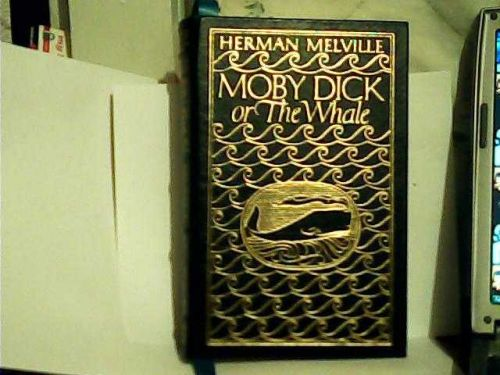 MOBY DICK or The Whale-Leather bound collector's edition-Vintage