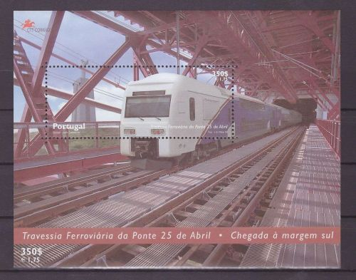 Portugal Trains 2315a mnh SS
