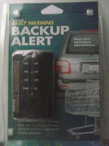 Early Warning Backup Alert