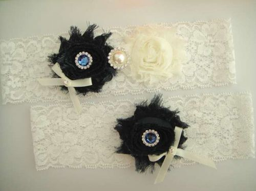wedding bridal garter set - white lace garter,keepsake garter,toss garter,