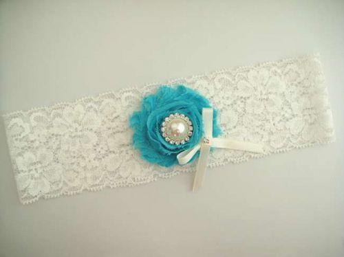 Gorgeous wedding garter toss Garter or keepsake garters. It is handmade