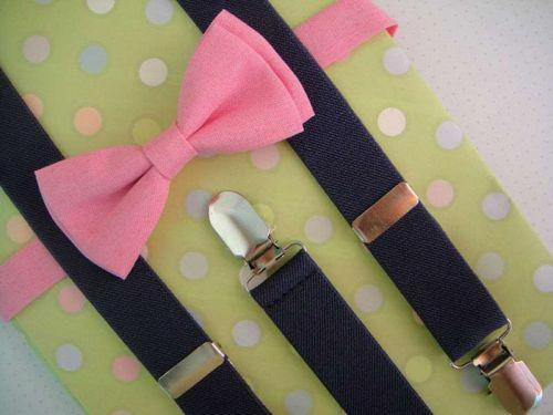 babys suspenders and bow tie,girls suspenders,gift suspendrs,wedding suspenders.