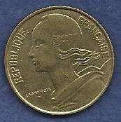 France 10 Centimes 1994 Coin - Marianne, Aluminum-Bronze