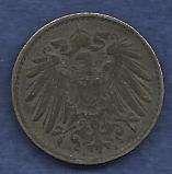 Germany 5 Pfennig 1918 Coin WW I Era Currency