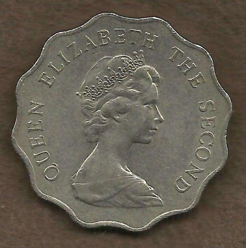 1975 Hong Kong 2 Dollar Coin Elizabeth II - Beautiful coin!