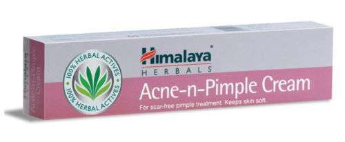 1 Peice HIMALAYA HERBALS ACNE AND PIMPLE CREAM FOR BEAUTIFUL SKIN 100% RESULT