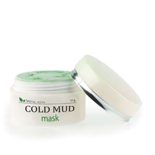 FACIAL DETOXIFYING COLD MUD MASK BLEMISH PIMPLE SCRUB Skin BEAUTY CARE FACE ACNE
