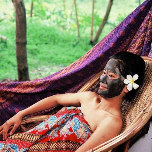 FACIAL DETOXIFYING BLACK MUD MASK Anti-Aging SCRUB Skin BEAUTY CARE FACE ESSENCE