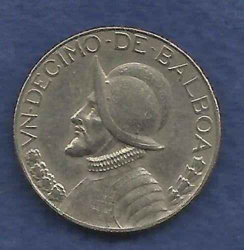 Panama 1 10 Un Decimo De Balboa 1982 Coin For Sale Item