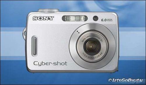 Sony Cyber-shot DSC-S500 6.0 MP Digital Camera - Silver