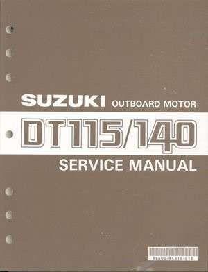86-00 Suzuki DT115 DT140 2-Stroke Outboard Motor Service Repair Manual CD