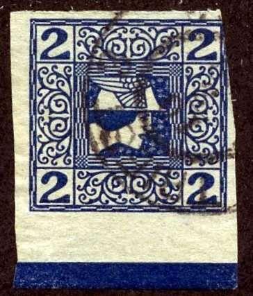 Austria 1908, Z eitungsmarke, Randliste, ANK 2015, #157z, Used
