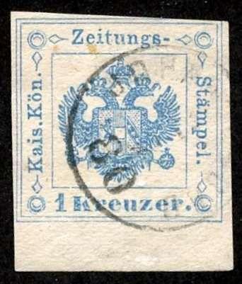 Austria-Zeitungsmarke 1877, ANK 2015, # 5 with Margin, Used