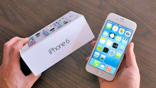Apple iPhone 6 Plus - 64 GB - Silver - Verizon