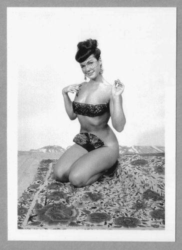 BETTY PAGE REPRINT PHOTO 5x7 #380