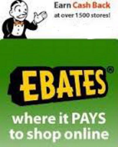 Cash Back at eBay, Macy's, Sears, Wal-Mart, Gap, Home Depot, Samsung, Toys R Us!