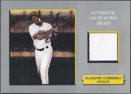 Vladimir Guerrero 2006 Topps Turkey Red Relics #VG Game Used Jersey