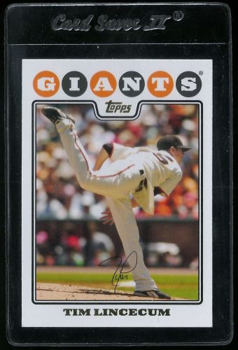 2008 Topps #165 Tim Lincecum - NM-MT