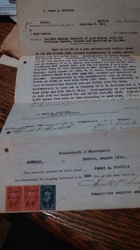 1920 Documentary Stamps on Quit Claim Deed