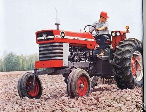 massey ferguson mf 180 operations manual for mf180 tractor rh unisquare com Restore Massey Ferguson 180 Massey Ferguson 180 Diesel Tractor