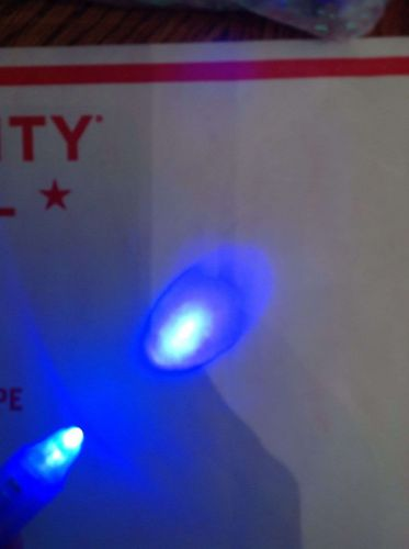 2x Invisible ink Pen With UV Light Built Into Cap. Fast Free Shipping From USA