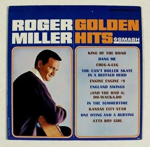 ROGER MILLER ~ Golden Hits Country LP