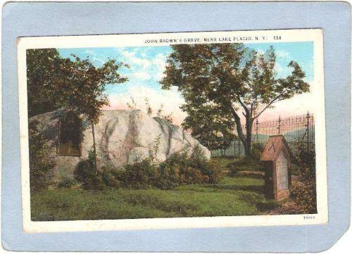 New York Lake Placid John Brown's Grave ny_box5~1754