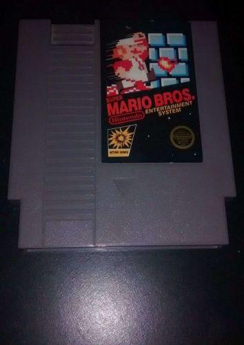 NES GAME LOT Super Mario Bros. & Pro Wrestling Nintendo