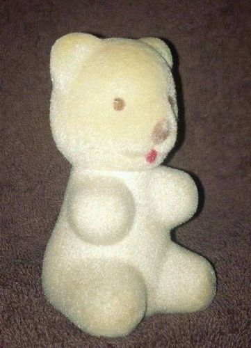 """Collectable Felted Bear AVON """"Sweet Honesty"""" Cologne #333 / 3 1/3"""" Tall"""
