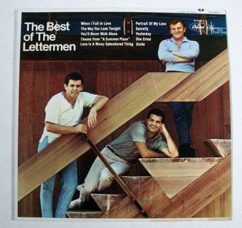The BEST of THE LETTERMEN 1966 Pop LP