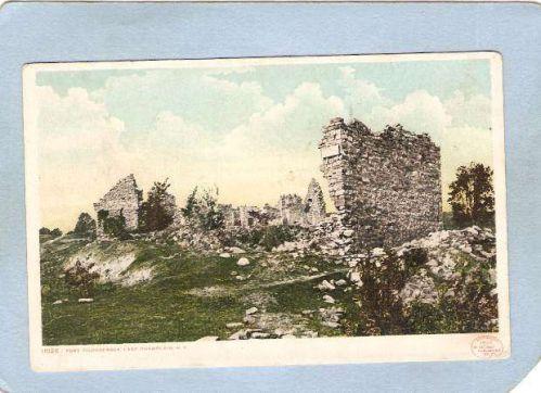 New York Fort Ticonderoga Ruins Of Frot Ticonderoga ny_box5~1647
