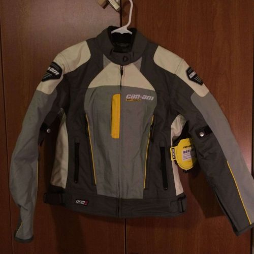 NWT Can-am Womens Sport Motorcycle Or Dirt Bike Jacket. MSRP $249.95!!