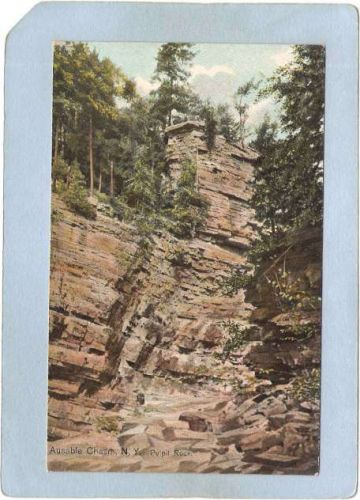 New York Ausable Chasm Pulpit Rock ny_box5~1457