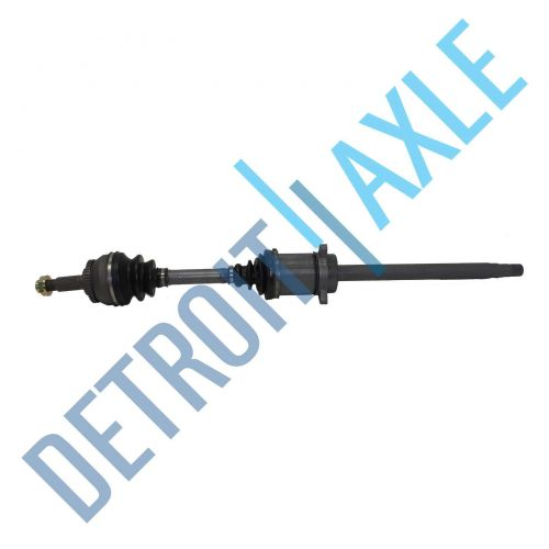 Complete Front Passenger Side CV Axle Shaft - Automatic w/ ABS - Made in USA