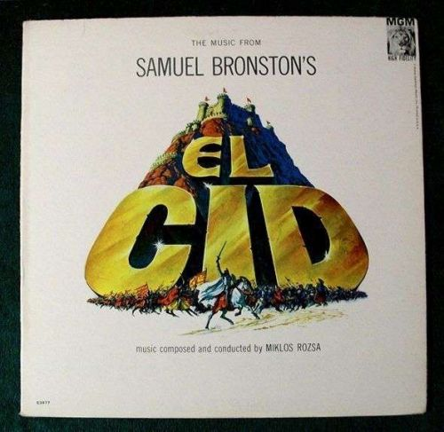 EL CID *** 1962 Original Motion Picture Score