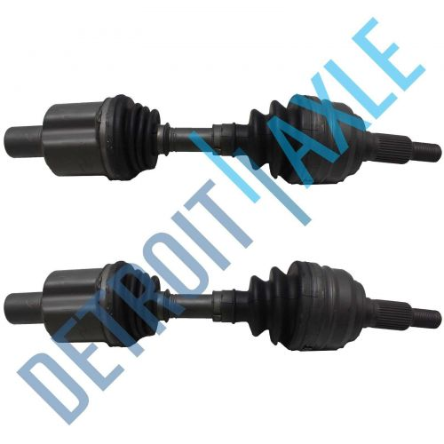 Pair of 2 Front Driver and Passenger Side CV Axle Shaft Set Limo + Hearse