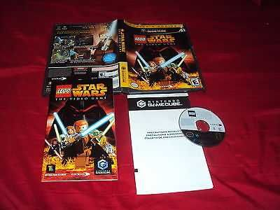 Lego Star Wars The Video Game Pc Edition Gamecube Wii Disc Manual